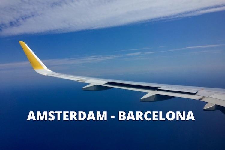 vliegtickets amsterdam barcelona