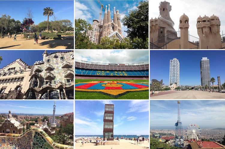 belangrijkste bezienswaardigheden in Barcelona