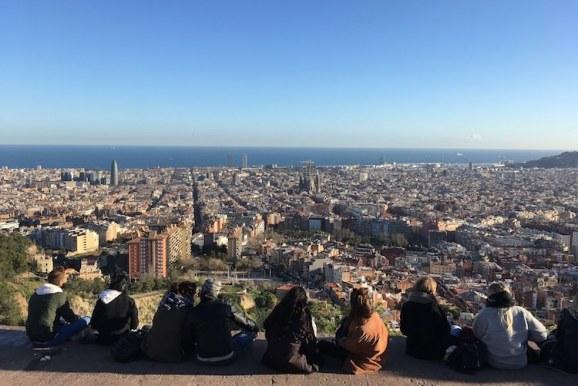 bunkers del carmel uitzicht Barcelona