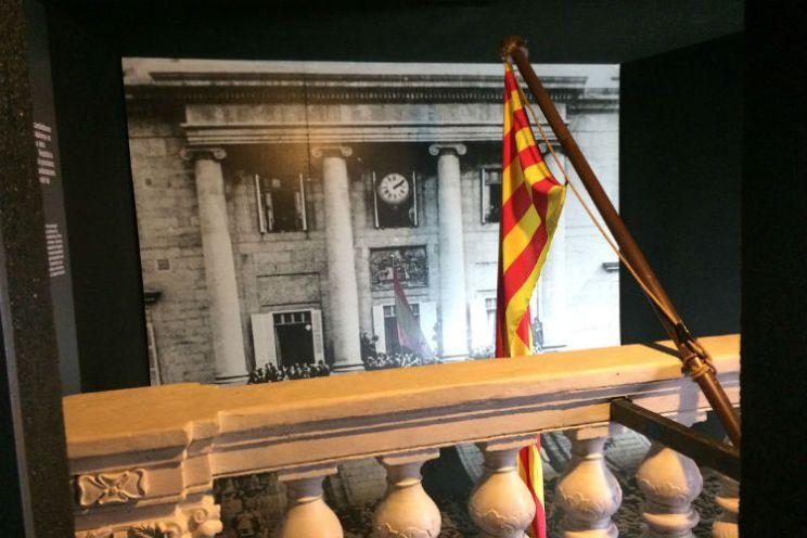 Foto Museu d'Història de Catalunya Catalaanse vlag
