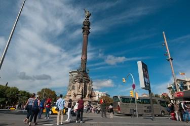 columbus beeld in barcelona