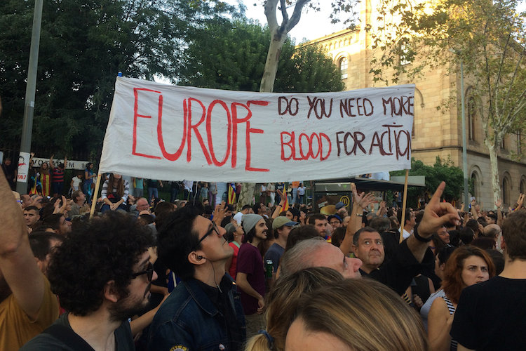 situatie barcelona catalonie onafhankelijkheid
