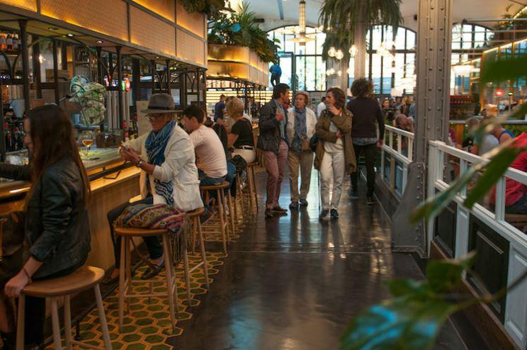 el nacional interieur restaurant in Barcelona