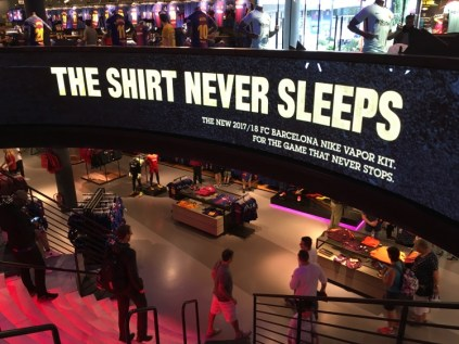 'The shirt never sleeps'