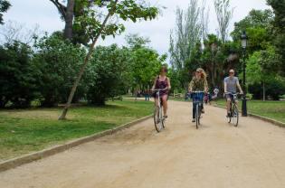 Fietstour met Nederlandstalige gids in Barcelona