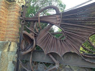 Pabellones de la Finca Güell Gaudí Barcelona