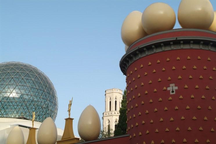 Teatre Museum Dalí dagtrip Barcelona