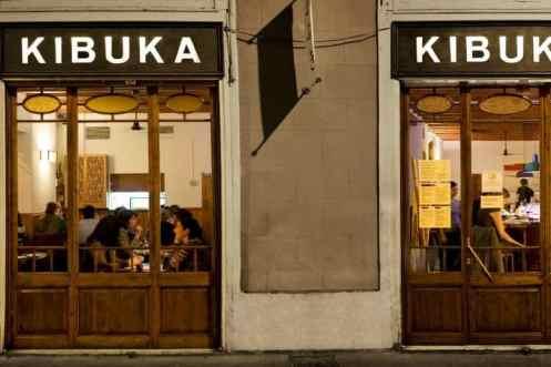 Gevels restaurant Kibuka
