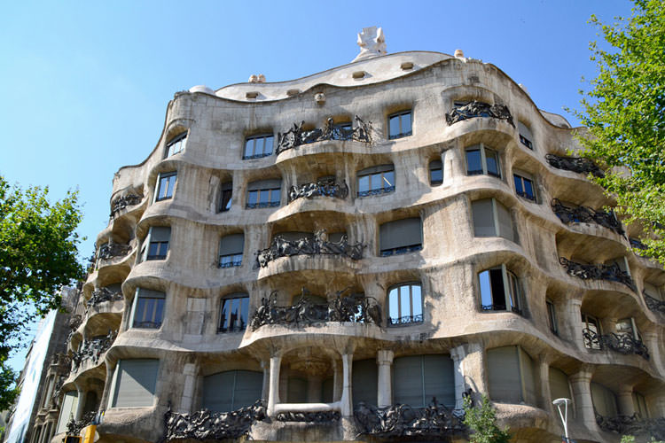 La pedrera casa mil in barcelona bezoeken - Casa mila la pedrera ...