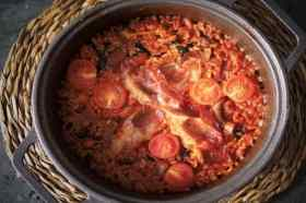 Pan met tomatenrijst L'arosseria