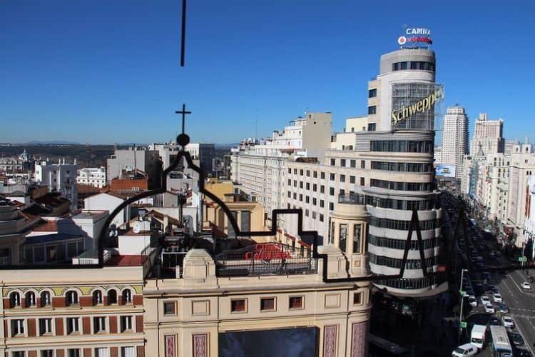 Gebouwen in Madrid