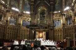 Jongenskoor in het klooster van Montserrat