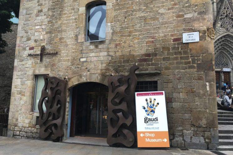 Museu Diocesà gotische buurt Barcelona