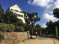 huis in park guell