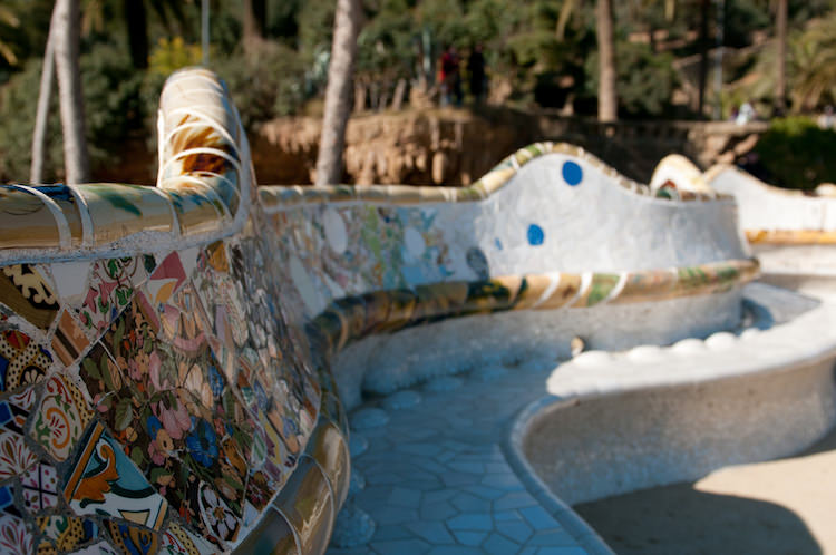park guell bank