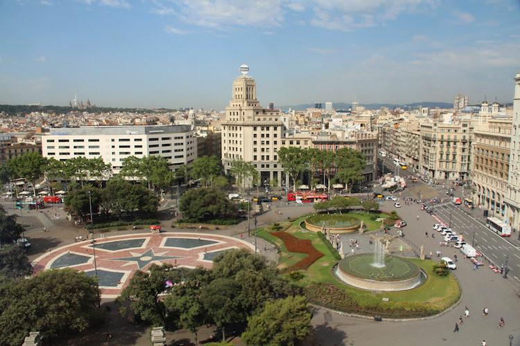Afbeeldingsresultaat voor barcelona Plaça de Catalunya