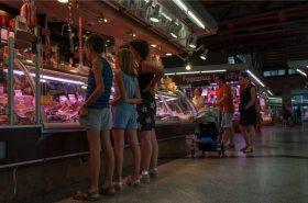 worst bestellen op Santa Catarina markt