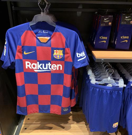 Shirt FC Barcelona Rakuten