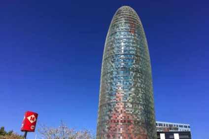 Torre Agbar metro