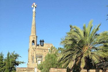 torre bellesguard van Gaudí in Barcelona