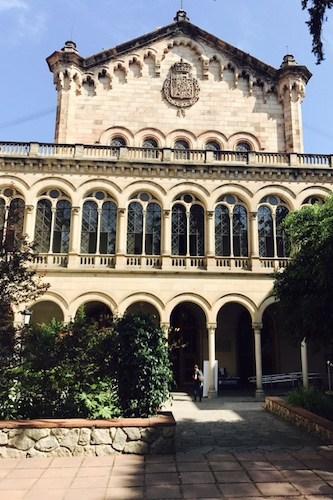 De universiteit van Barcelona