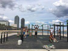 Fitness strand Barceloneta