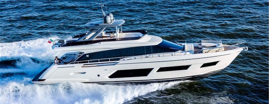 ferretti yachts barche a motore