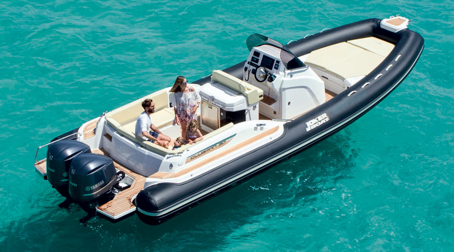 Joker Boats Clubman 30 - Gommoni