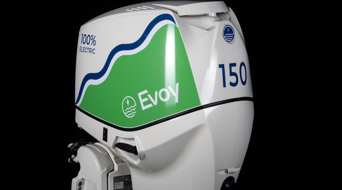 Evoy electric outboard