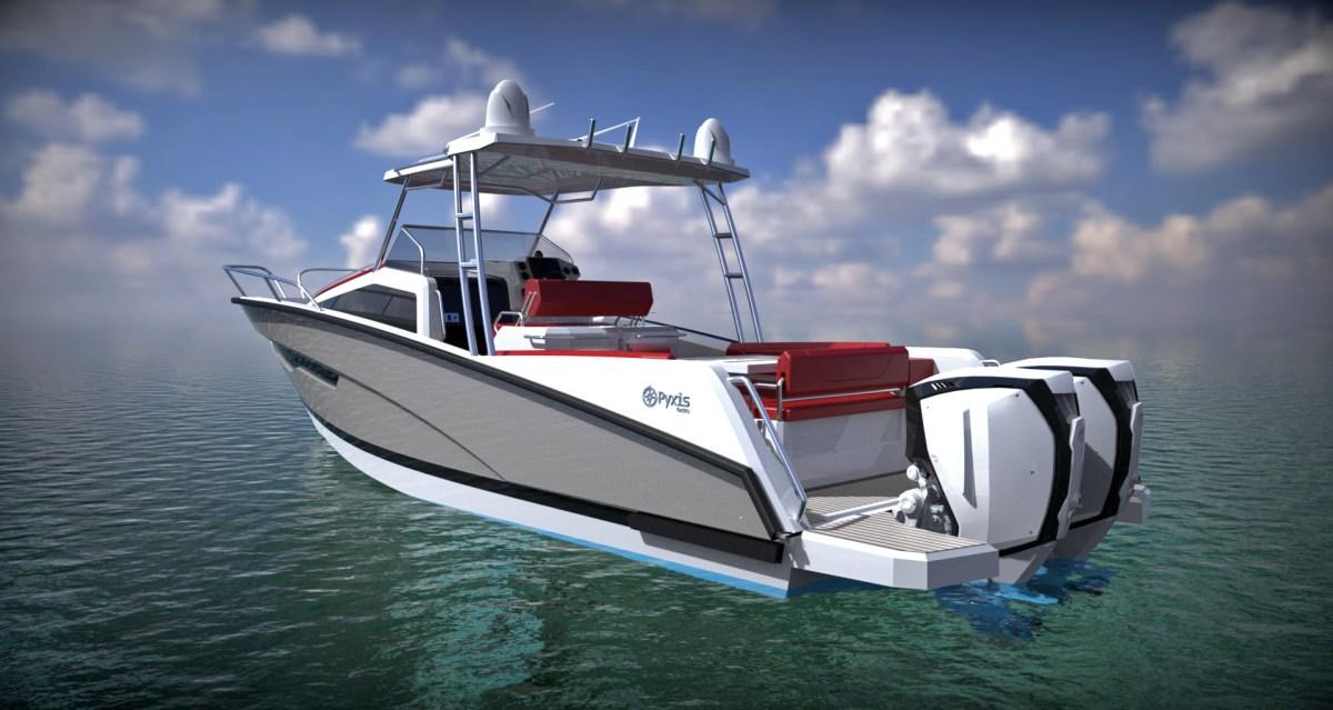Pyxis Yachts P-30 render
