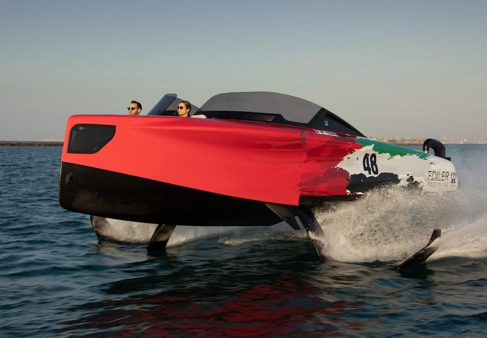 Foiler, la barca con i Foil di Enata Marine
