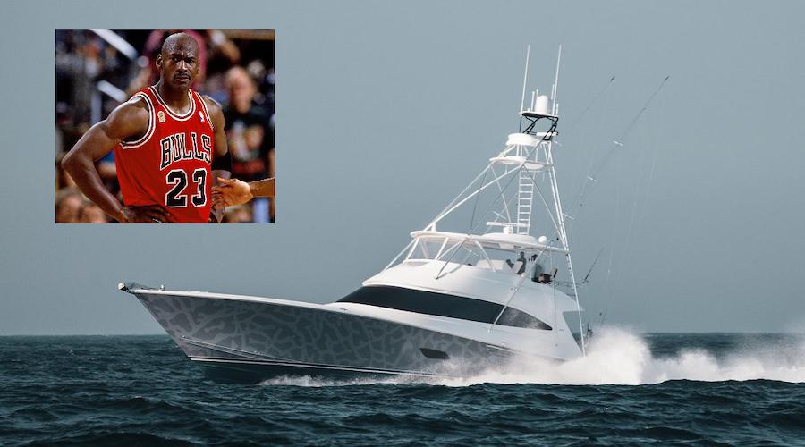 La barca di Michael Jordan