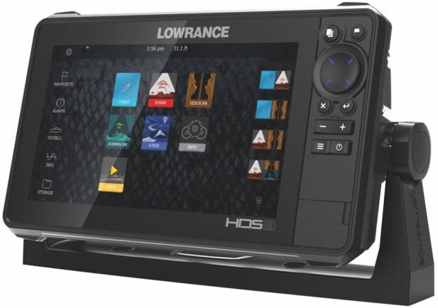 3 Lowrance HDSLIVE unit