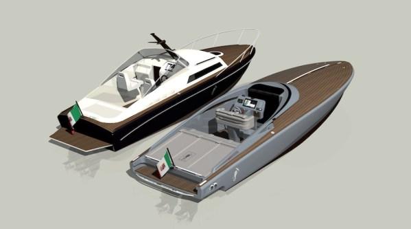 Levi boats corsair sport PMP Design