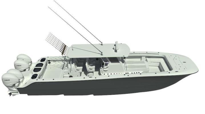 Invincible Boats Catamaran 46