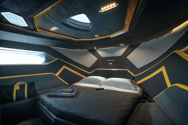 Cabina di prua del Tecnomar for Lamborghini 63