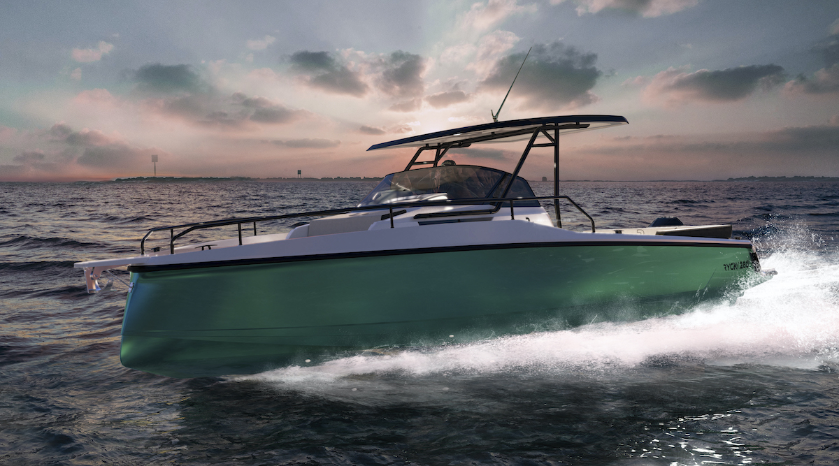 Ryck 280 barca a motore