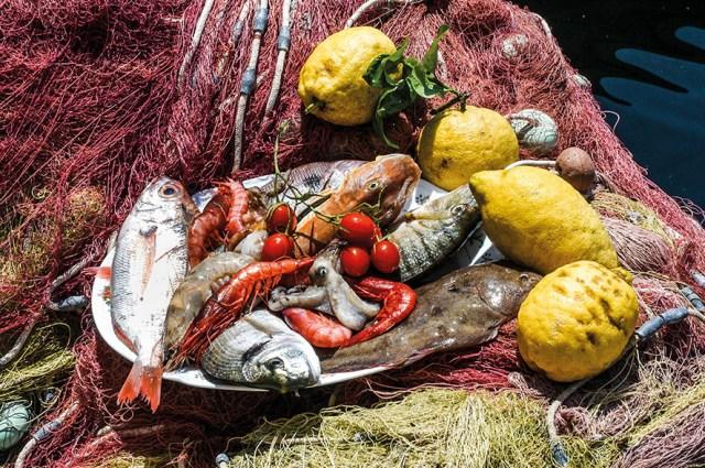 Alessandro Borghese mercato del pesce