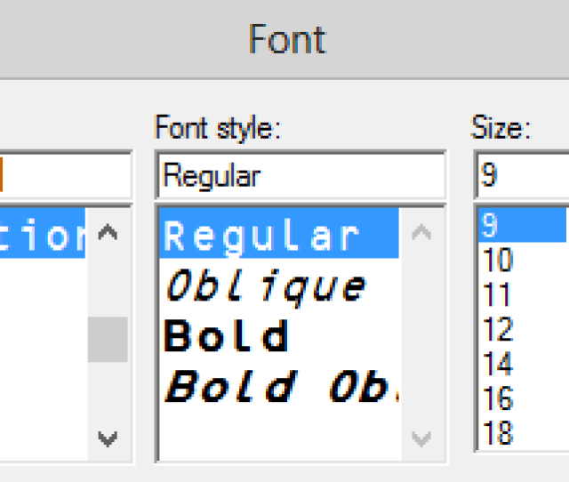 In The Text Color Properties Tab Click The Set Button For The Human Readable Text Font And Choose Idautomationocrb At 9 Points