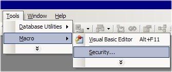 Barcode Macros Do Not Run Files Do Not Open Or Name Error