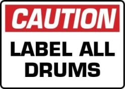 Barcode Southwest Drum Label-Barcode Southwest