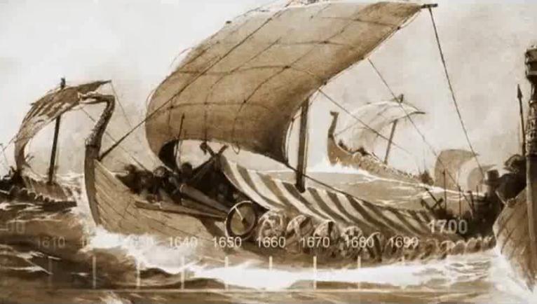 Barcos Dragón Vikingos