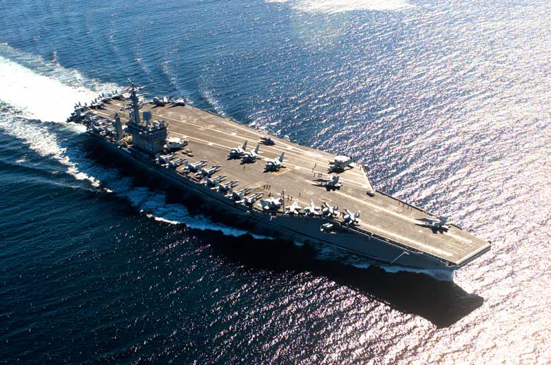 USS Nimitz, portaaviones americano