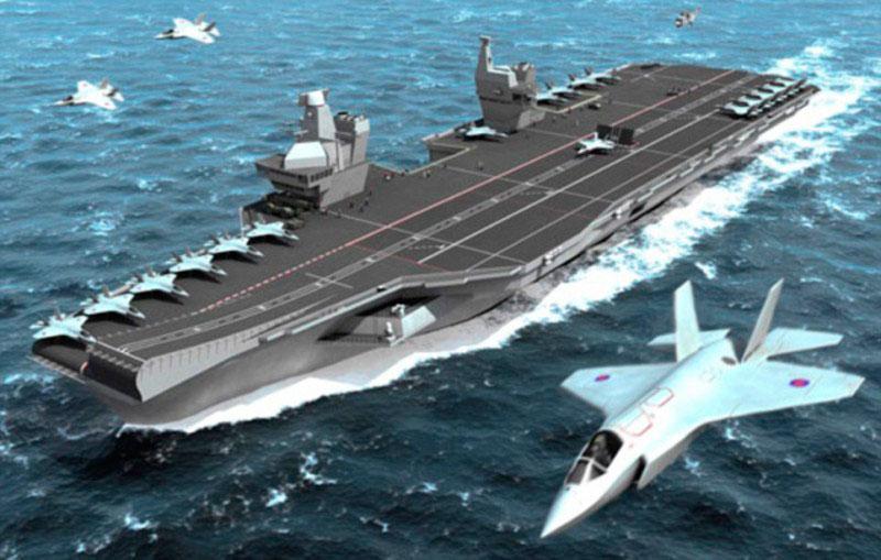 portaaviones britanico moderno