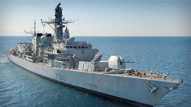 fragatas de la Royal Navy