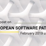 European Software Patents February 2019 Updates