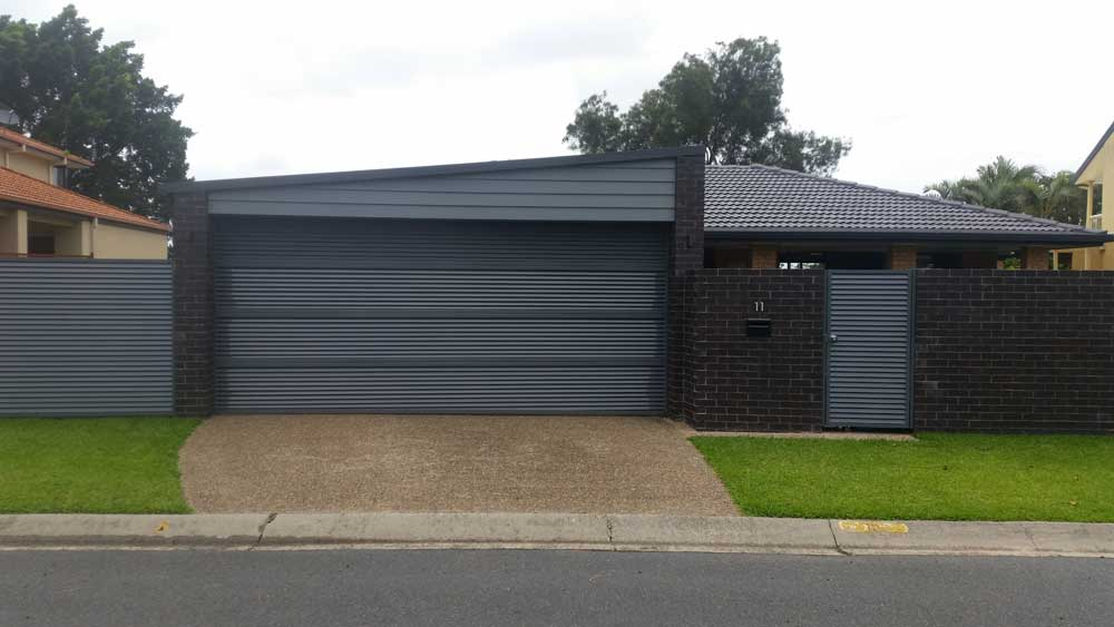 Carport Amp Front Fence Mermaid Waters Gold Coast Bardera