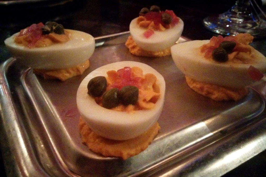 Cottonwood Houston - Salmon Deviled Eggs