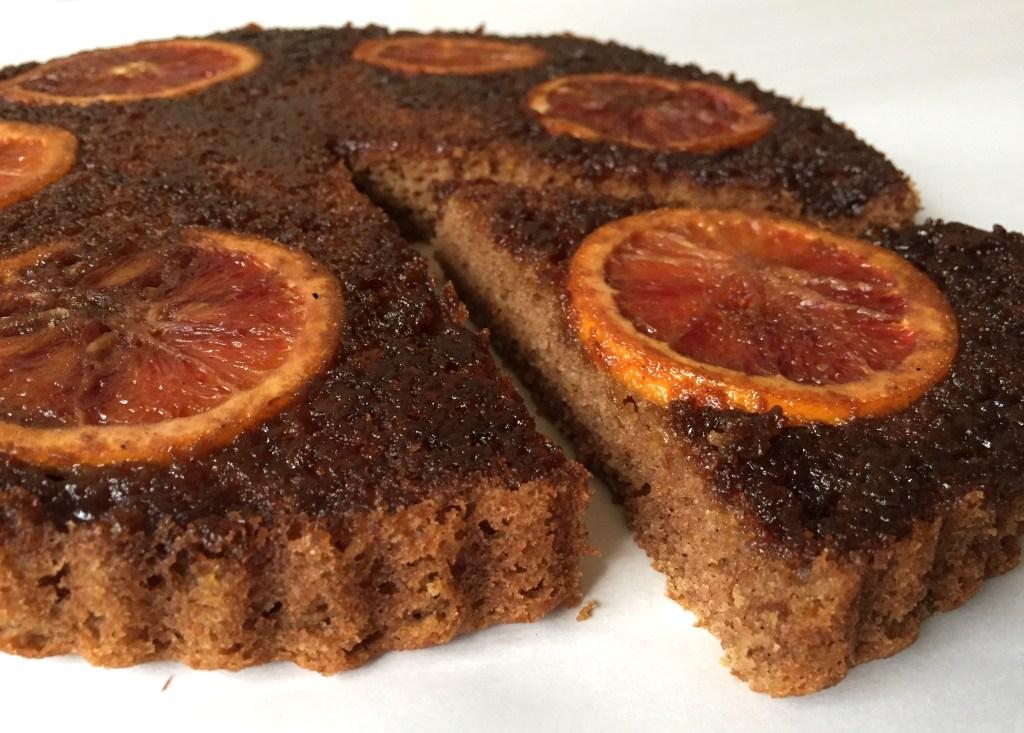Blood orange olive oil cake 2