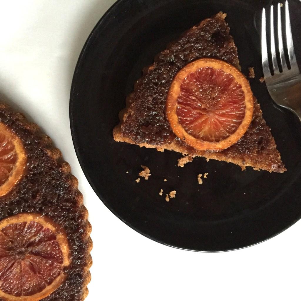 Blood orange olive oil cake (DF, SF, GF, Paleo friendly)